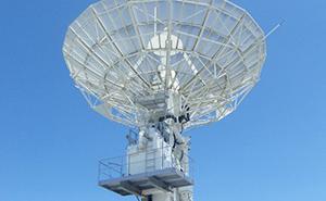 JAXA沖縄宇宙通信所パラボラアンテナ