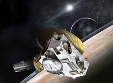 Pluto Explorer New Horizons (courtesy: NASA)