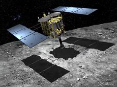 Asteroid explore HAYABUSA-2 (courtesy: Akihiro Ikeshita)