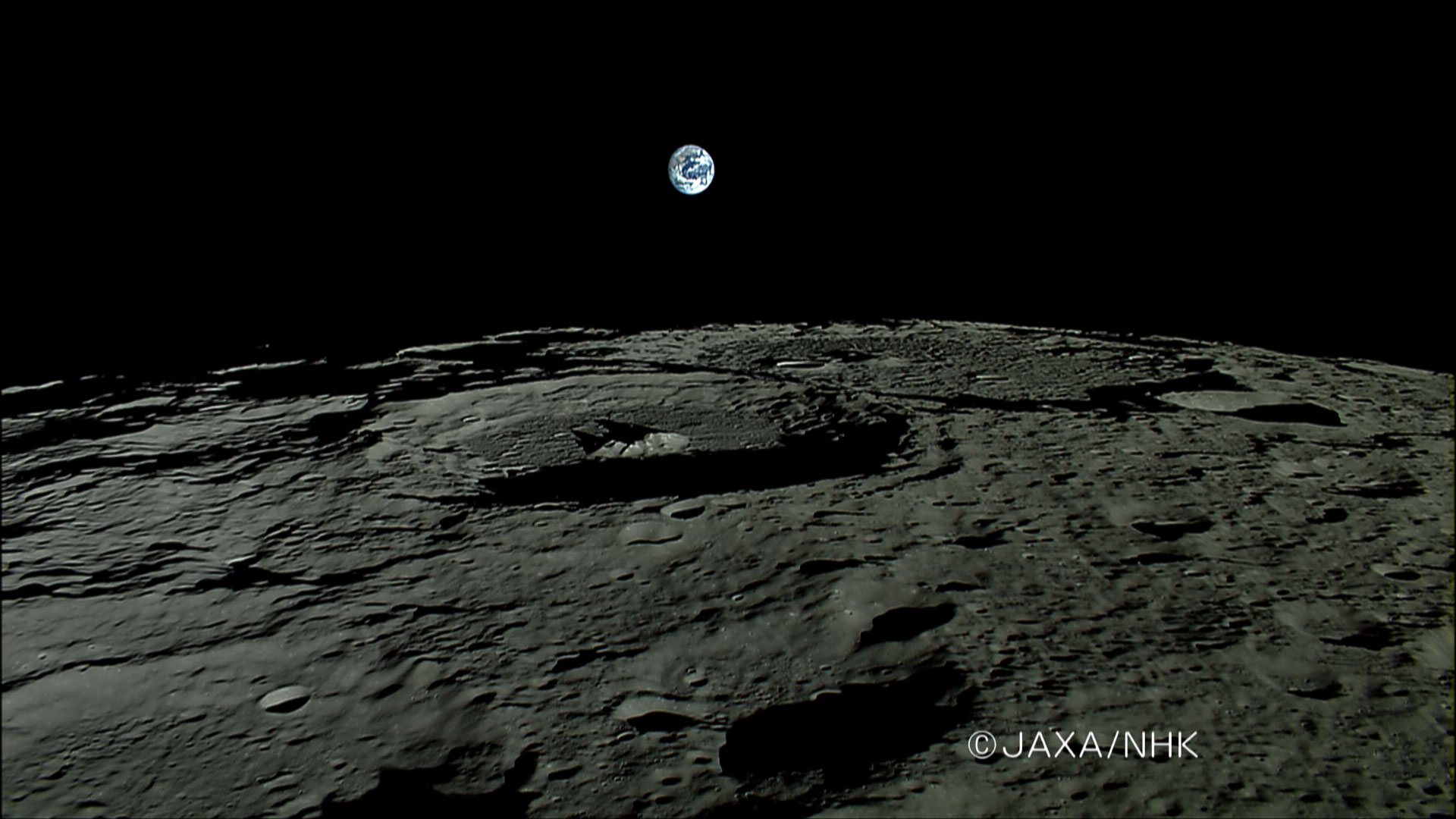 surface of moon as seen from earth - photo #7