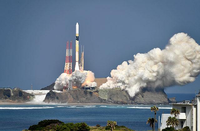 「いぶき2号」/H-IIAロケット40号機、打ち上げ成功!