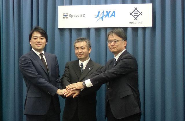 日本実験棟「きぼう」からの超小型衛星放出事業民間事業者の選定結果について記者会見を開催