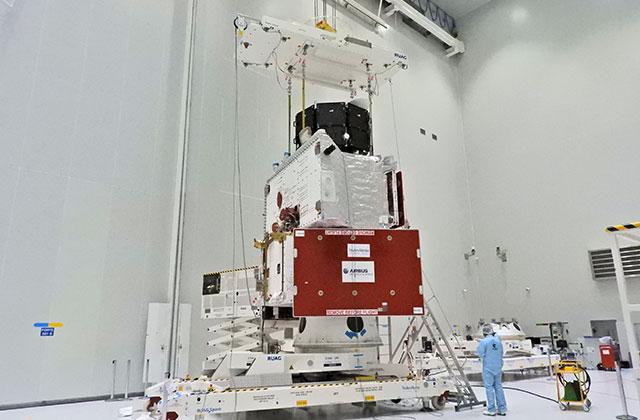BepiColombo計画の2機の水星探査機が最終状態に結合されました