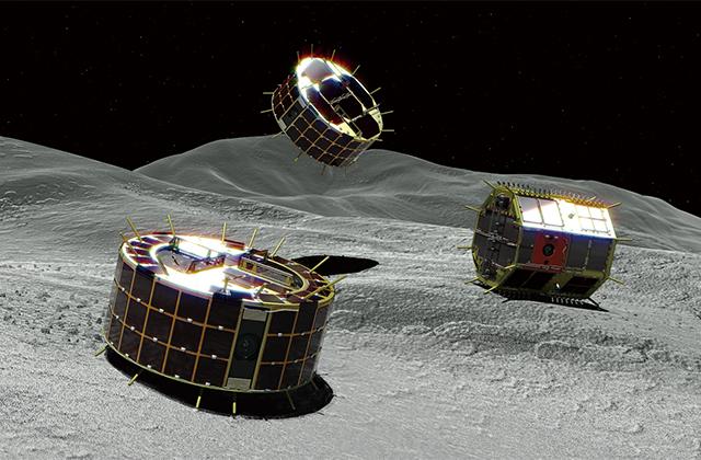 小型探査ローバMINERVA-II1
