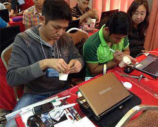 宇宙教育教員セミナー in フィリピン