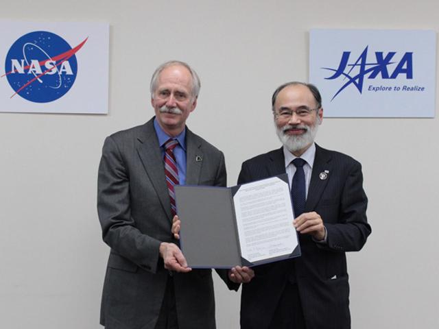 米国航空宇宙局(NASA)と宇宙探査に係る協力について共同声明に署名しました
