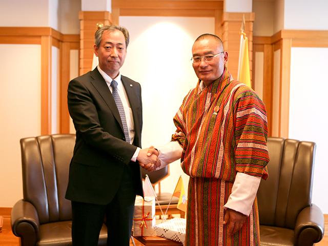JAXA理事長とブータン王国首相による会談実施のお知らせ