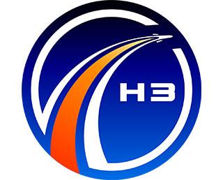 H3ロケット開発のロゴマーク