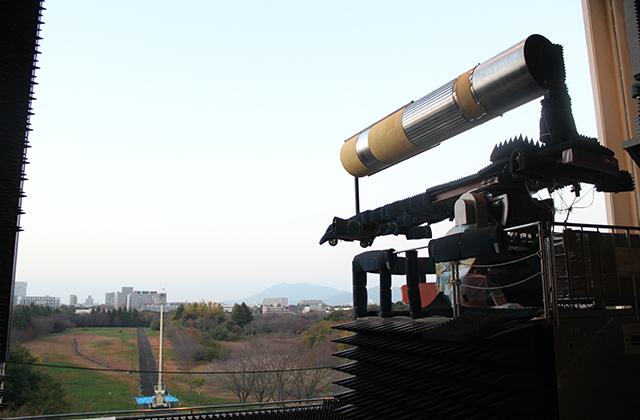 H3ロケットアンテナパターン試験の様子