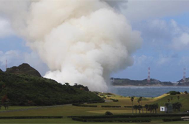 SRB-3実機型地上燃焼試験を実施しました!!