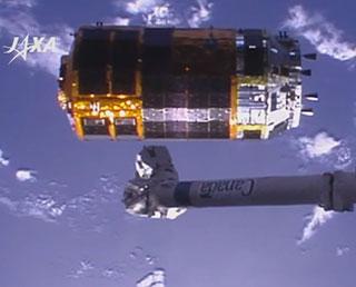 「こうのとり」5号機が大気圏へ再突入、ミッション完遂!
