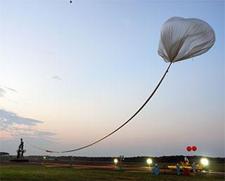 大気球実験B15-03 終了