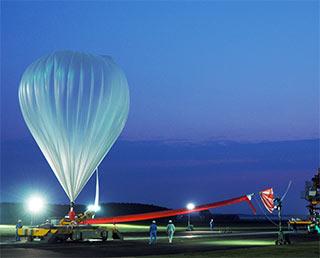 大気球実験B16-02の実施終了~成層圏における微生物捕獲実験