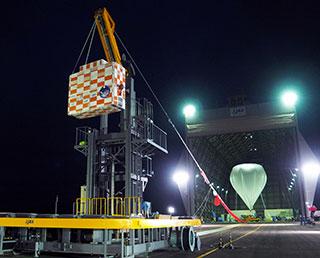 大気球実験B16-01の実施終了~火星探査用飛行機の高高度飛行試験