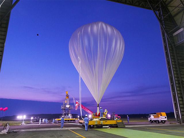 大気球実験B17-04の実施終了[新型ロードテープ気球飛翔試験]