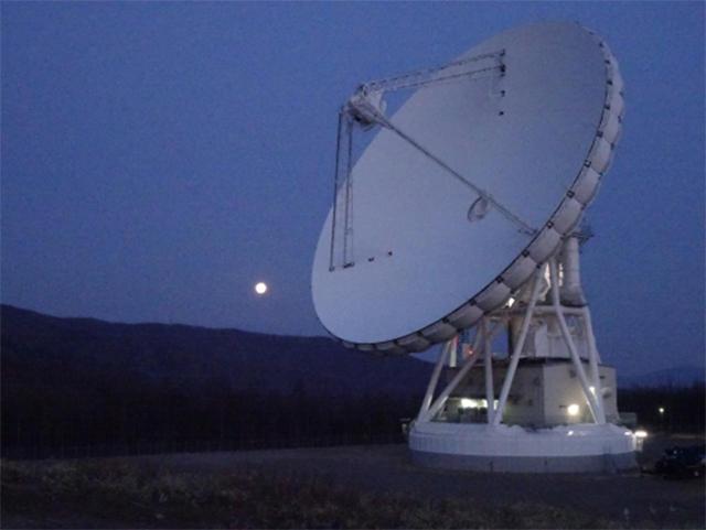 美笹深宇宙探査用地上局で「はやぶさ2」からのKa帯電波の受信成功