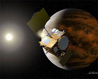 「あかつき」2015年12月7日に金星周回軌道へ再投入