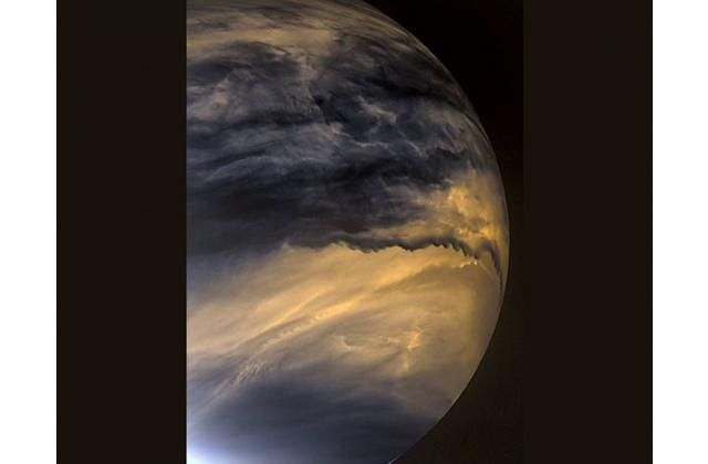「あかつき」の観測から金星の低い雲の動きが明らかに