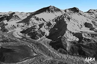 世界最高精度!「だいち」画像による全世界デジタル3D地形データを整備