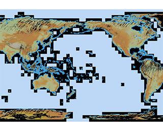 """ALOS全球数値地表モデル(DSM)""""ALOS World 3D - 30m""""(AW3D30)"""