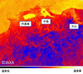 「だいち2号」搭載 地球観測用小型赤外カメラの初画像