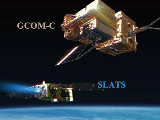 GCOM-CとSLATSの「愛称」を同時募集します