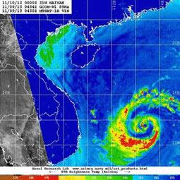 「しずく」観測データのアメリカ海洋大気庁(NOAA)での利用について