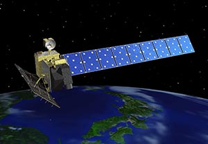 陸域観測技術衛星「だいち」(ALOS)