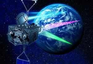 超高速インターネット衛星「きずな」(WINDS)