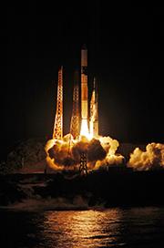 GPM主衛星を搭載したH-IIAロケット23号機、打ち上げ成功!
