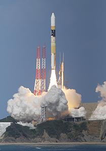 H-IIAロケット25号機/「ひまわり8号」打ち上げ成功!