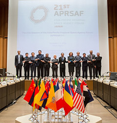 第21回アジア・太平洋地域宇宙機関会議」を東京で開催しました