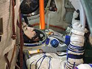 油井宇宙飛行士の打ち上げに向けた準備状況