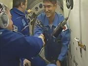 大西宇宙飛行士、国際宇宙ステーションに到着!