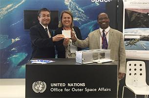 JAXAおよび国際連合宇宙部(UNOOSA)共同で、KiboCUBEプログラムの第二回公募開始を発表
