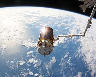 「こうのとり」6号機、大気圏へ再突入・ミッションを完了
