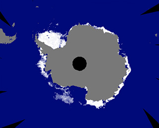 「しずく」が観測 地球上の海氷面積が観測史上最小に
