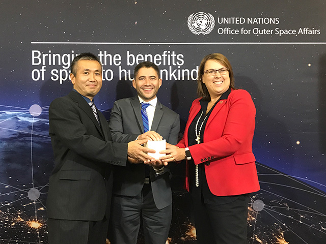 JAXAと国連宇宙部(UNOOSA)共同で、KiboCUBEの第3回公募開始を発表