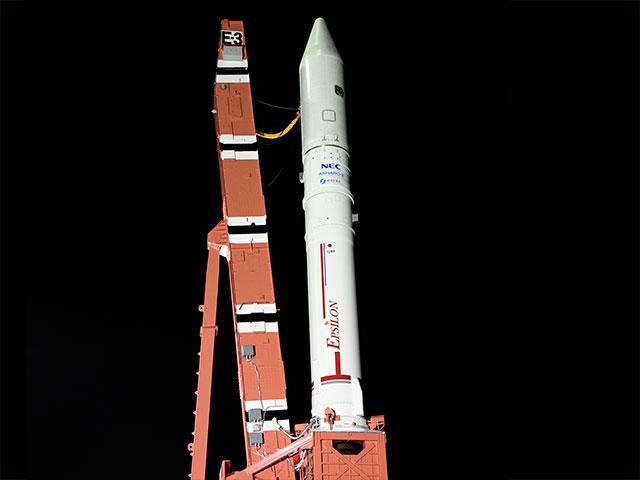 イプシロンロケット3号機による高性能小型レーダ衛星(ASNARO-2)の打ち上げライブ中継は18日(木)5:40から!