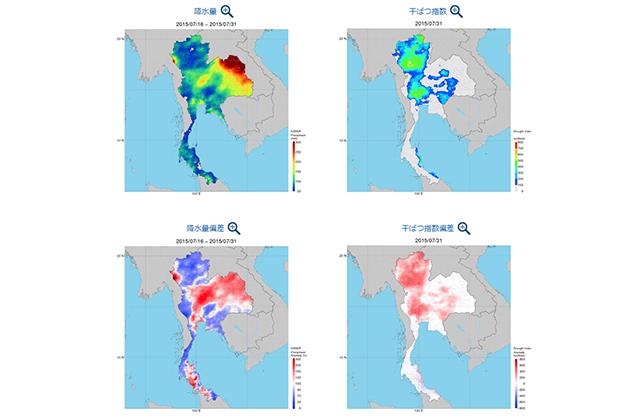 衛星全球降水マップ(GSMaP)の海外における農業分野での利活用