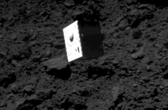 [はやぶさ2プロジェクト]探査機から分離していくMASCOTの撮影に成功!