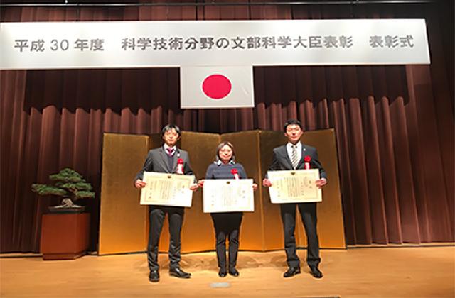 「きぼう」超小型衛星放出プラットフォームにおける取組みが文部科学大臣表彰「科学技術賞」を受賞しました