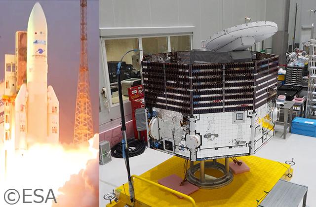 国際水星探査計画BepiColomboの打上げライブ中継は、10/20(土)10:00から!